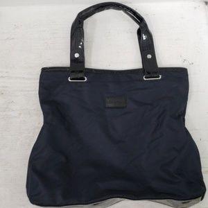 ❤CALVIN KLEIN nylon tote- navy and black